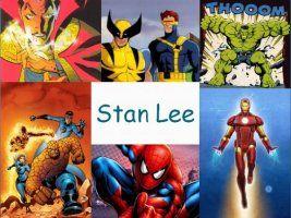 Leuke en informatieve powerpoint over Stan Lee voor 5, deze en nog vele andere kun je downloaden op de website van Juf Milou.