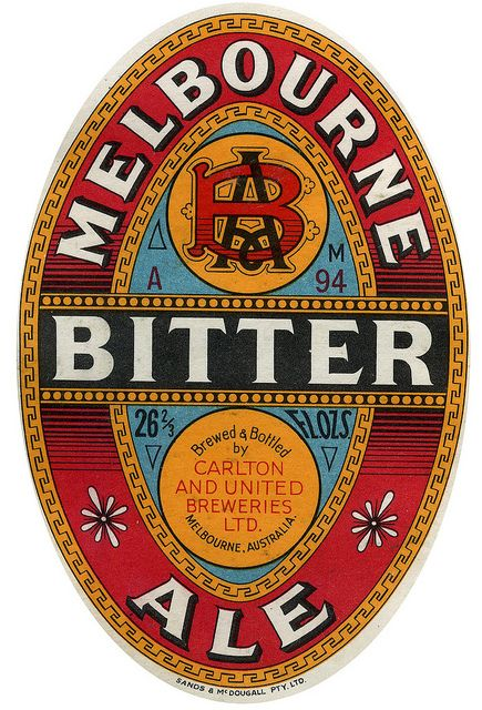 MELBOURNE BITTER by Like_Minded_Studio_Ephemera, via Flickr