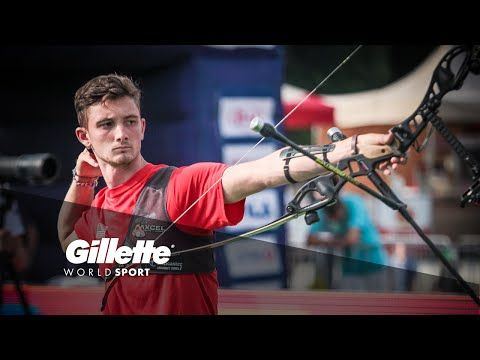 Perfecting Archery Technique with Zach Garrett  Zach Garrett explains the pin-point precision required within Archery, where a 1mm error at the line can result in a huge difference at the target, 70m away.
