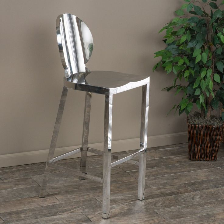 Best 25 Stainless Steel Bar Stools Ideas On Pinterest At Home Bar Stools White Kitchen