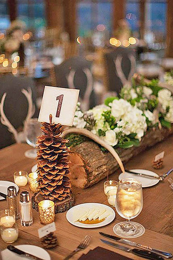 241 best wedding decor more images on pinterest marriage 30 charming winter wedding decorations junglespirit Choice Image