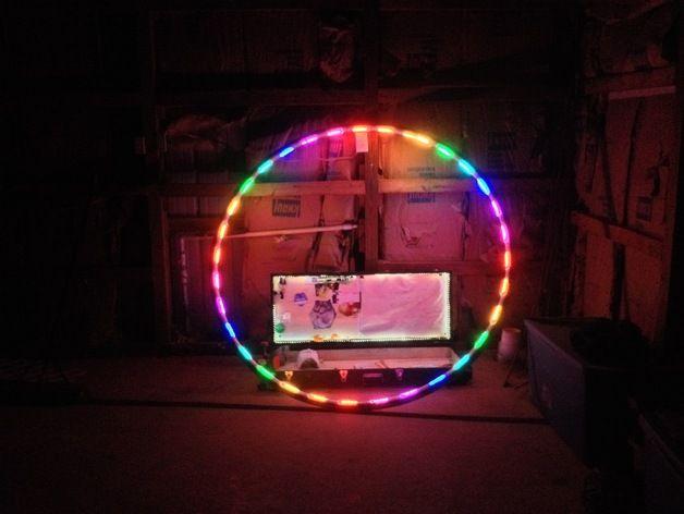 Led Cyr Wheel Cuff v3 by JoeyE
