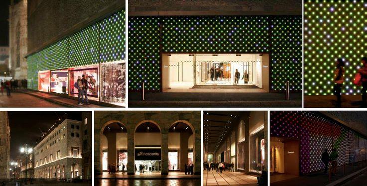 Concept #Rinascente #Milano Project by #Cibic & Partners  Light Designer Marco #Pollice