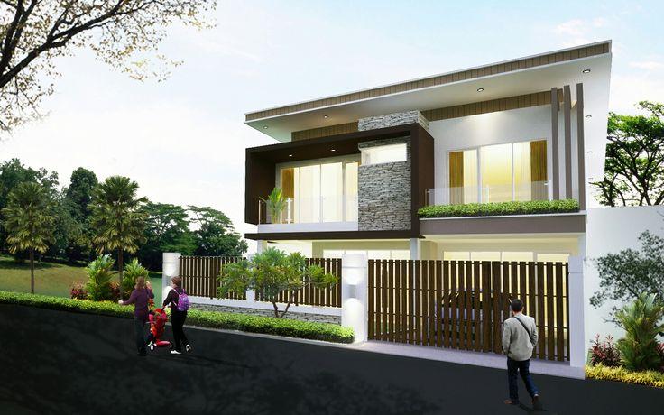 arsitek batam modern exterior