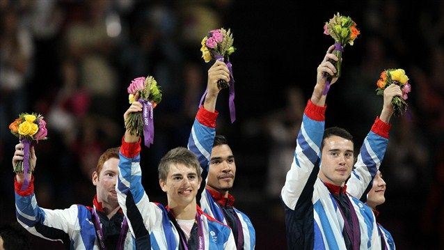Gymnastic medal for GB - Bronze