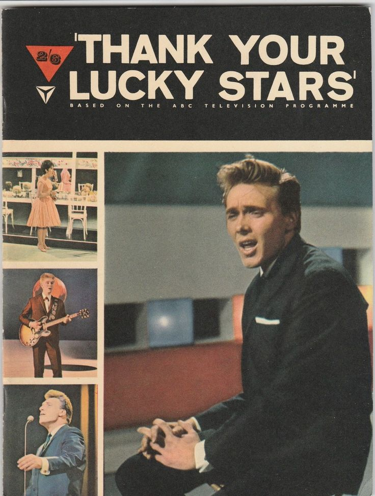 "Beatles Dusty Gene Vincent Billy Fury Jet Harris ""Thank you Lucky Stars"" 1963 