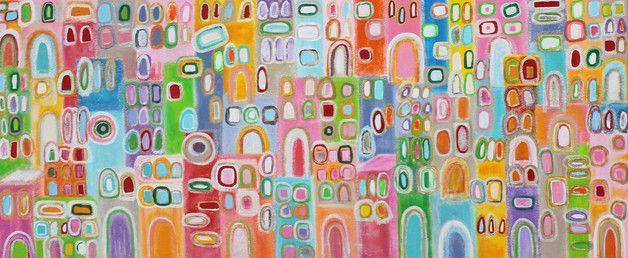 Acrylmalerei - Acrylbild modern art abstrakt Original - ein Designerstück von mai-art bei DaWanda