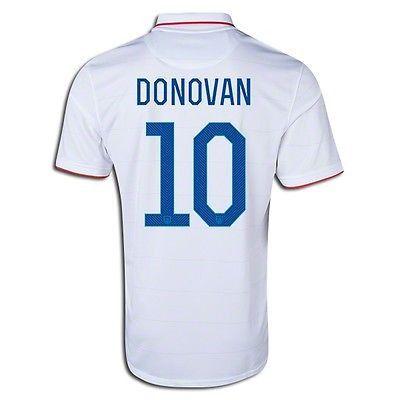 1e0634078 ... NIKE LANDON DONOVAN USA HOME JERSEY FIFA WORLD CUP BRAZIL 2014 US SOCCER  TEAM. ...