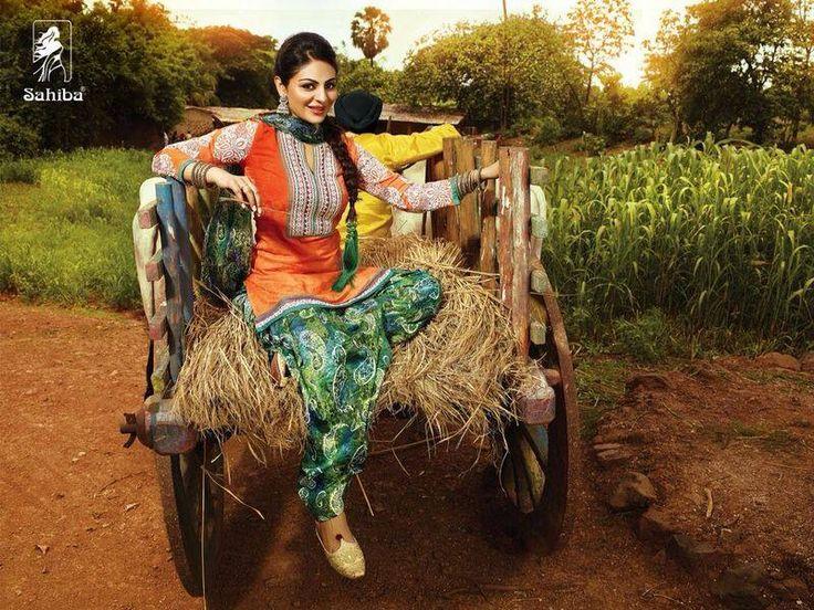 Neeru Bajwa punjabi suits | $Patiala suit$ | Pinterest | Punjabi Suits ...