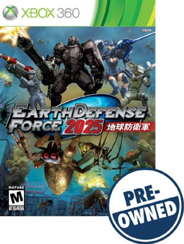 Earth Defense Force 2025 - PRE-Owned - Xbox 360