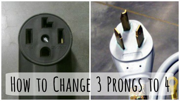 You've moved into your new home, but the dryer plug doesn't fit. Step-by-step instructions (with photos) for how to change out a 3 prong dryer plug for a new 4 prong cord.