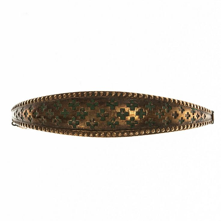 Kalevala Koru, bronze bracelet, c. mid-1900's.
