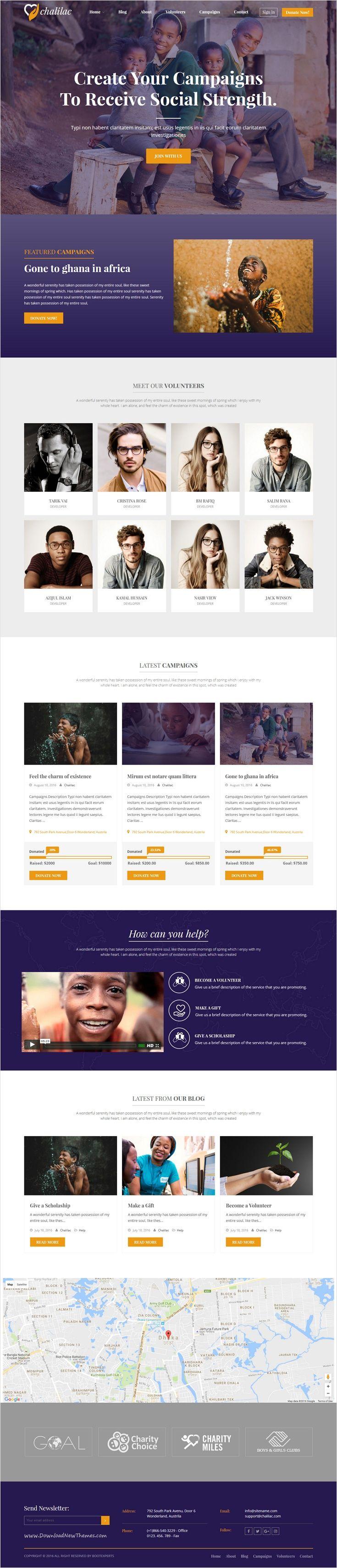 Gmail theme gone - Chalilac Wordpress Charity Theme