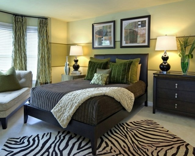 Green And Black Bedroom 124 best light green and white bedroom images on pinterest | home