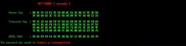 [ Evil Twin ] Fluxion: Password trovata
