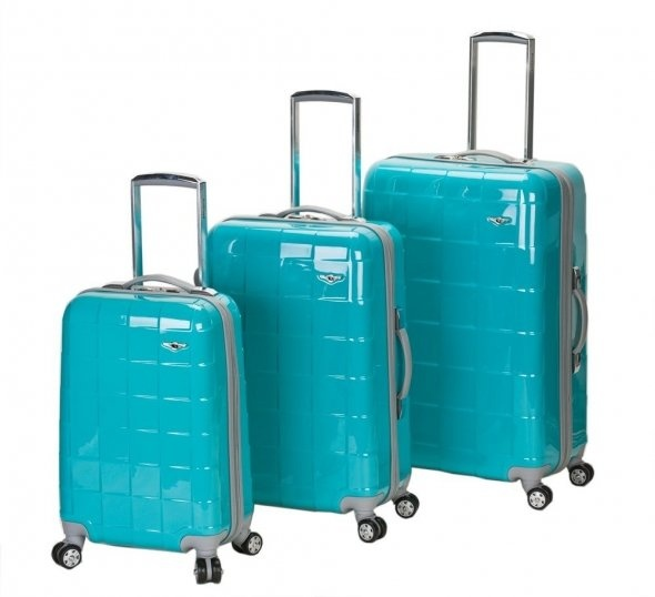 Turquoise Luggage Set - Sure would like to own these!!