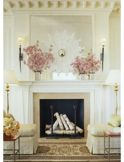 Rooms To Remember The Classic Interiors Of Suzanne Tucker Fireplace    Pandau0027s House