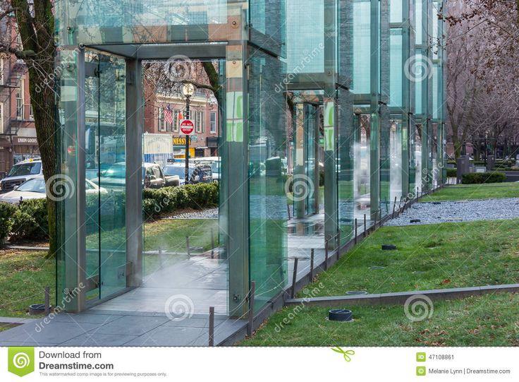 Monumento Del Holocausto De Nueva Inglaterra, Boston, Massachusetts, El 30  De Diciembre De 2013 Foto editorial - Imagen: 47108861