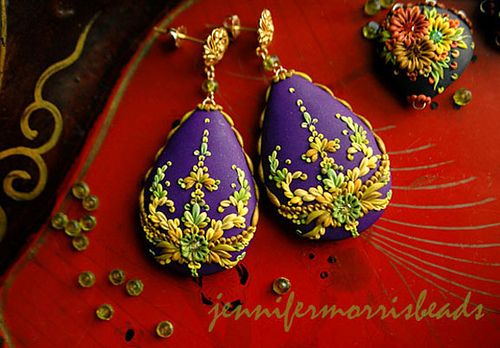 dancing under lemon chandeliers - baroque drop earrings | Flickr - Photo Sharing!