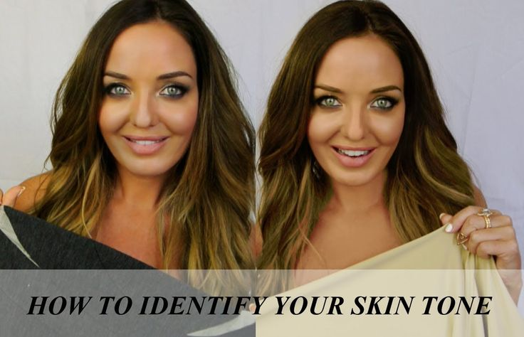 HOW TO: IDENTIFY YOUR SKIN TONE & never look tired again!