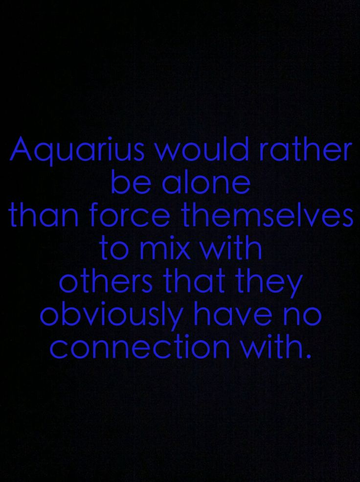 Aquarius Facts