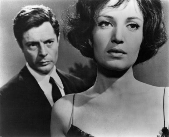 """Monica Vitti and Marcello Mastroianni in """"La Notte"""""""