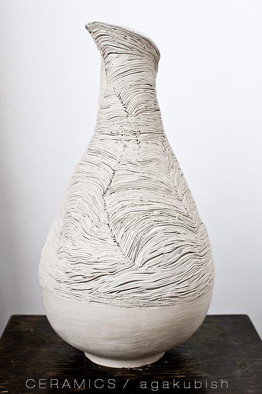 wazon duży WARSTWY by agakubish