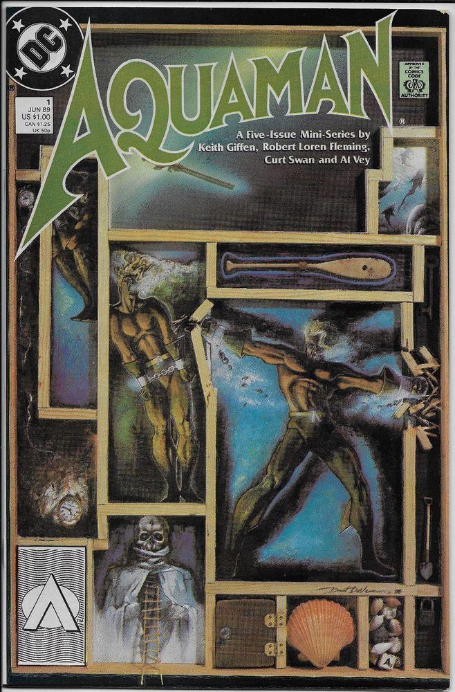Aquaman #1 (of 5-issue mini-series) VG+ 4.5 DC 1989 Giffen Fleming Swan & Vey