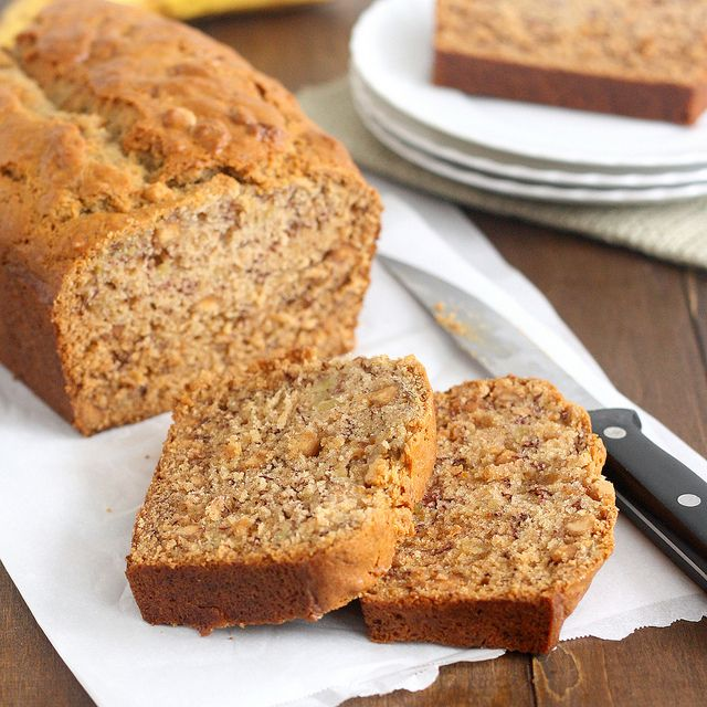 Roasted Brown Butter Banana Bread