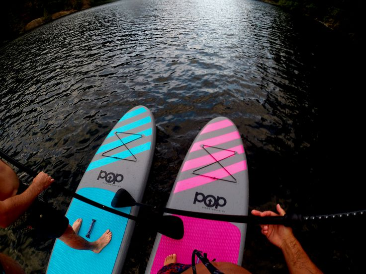 Two is better than one ! featuring our inflatable boards #SUP #poppaddleboards