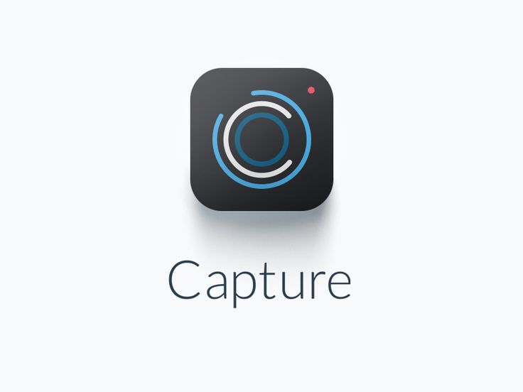 Box Capture app icon design by koray ekremoglu