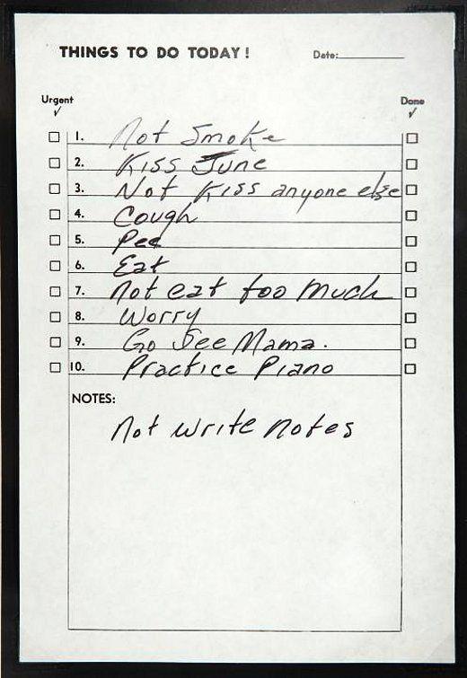 A letter from Johnny Cash to June Carter   Velour et Bonheur