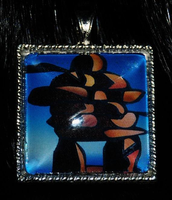 Inukshuk Pendant by KabloonaKreations on Etsy, $18.00