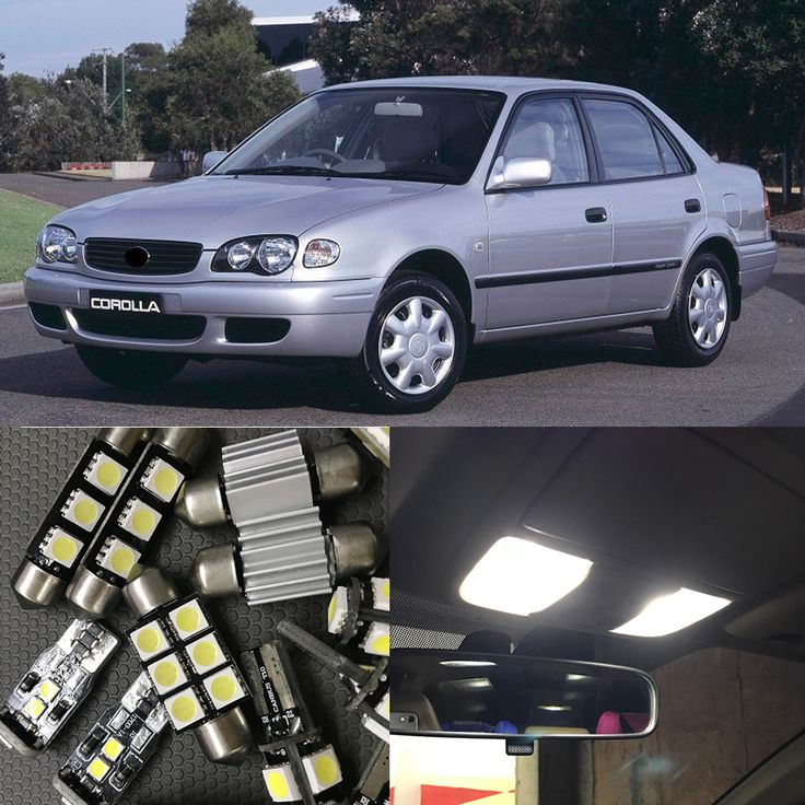 10Pcs White LED Lights Bulb Interior Package Kit For Toyota Corolla 1998-2002 Map Dome Trunk License Plate Light -  Compare Best Price for 10Pcs White LED Lights Bulb Interior Package Kit For Toyota Corolla 1998-2002 Map Dome Trunk License Plate Light product. This shopping online sellers give you the best deals of finest and low cost which integrated super save shipping for 10Pcs White LED Lights Bulb Interior Package Kit For Toyota Corolla 1998-2002 Map Dome Trunk License Plate Light or…