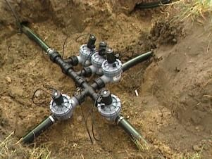 An in-ground sprinkler system is easy to install by following these instructions.