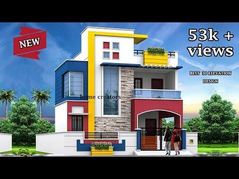 30 Beautiful Modern House Front Elevation Design Double Floor Part 2 Youtube Front Elevation Designs House Front Front Elevation