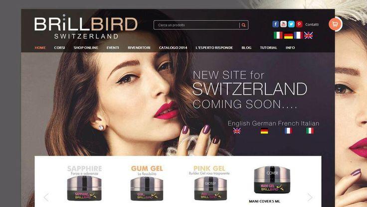 In breve pronto il nostro nuovo sito Svizzero  www.brillbirdnails.ch Coming Soon our new Swiss site www.brillbirdnails.ch