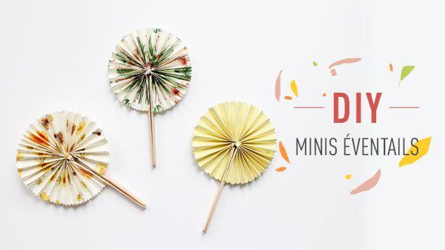 Cet été on se rafraîchit en fabriquant des minis éventails avec le DIY Minis éventails de L'Éclat de Verre Encadreur - Créateur.