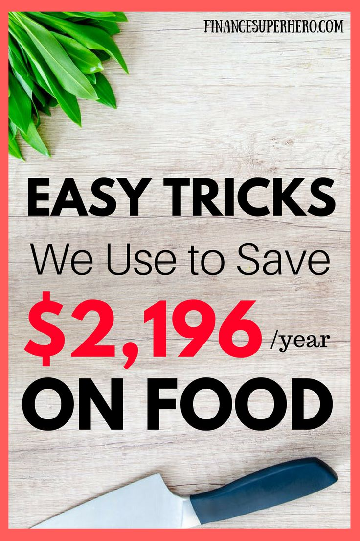 These easy tips are AWESOME! Who could afford to throw away $2,000 each year? Due to food waste, that's exactly what you're doing. Follow these 13 simple tips to save $183 per month or $2,196 per year, on average!