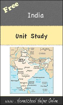 Free India Unit Study - Homeschool Helper Online