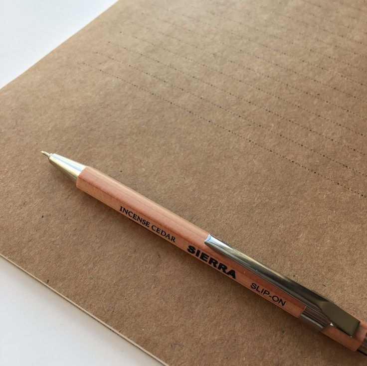 SIERRA Cedar Mechanical Pen