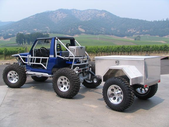 CUSTOM ALUMINUM ATV TRAILERS