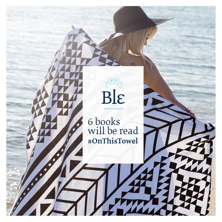 Create your own moments #OnThisTowel http://ble-shop.com  #BleResortCollection #SummerFashion #Style