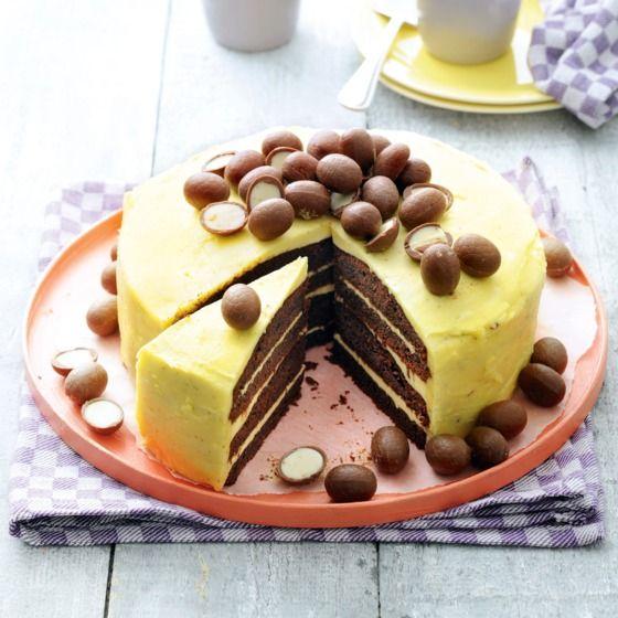 Een heerlijke taart met een verrassende combinatie van rode bieten en chocola #bakken #pasen #jumbosupermarkten