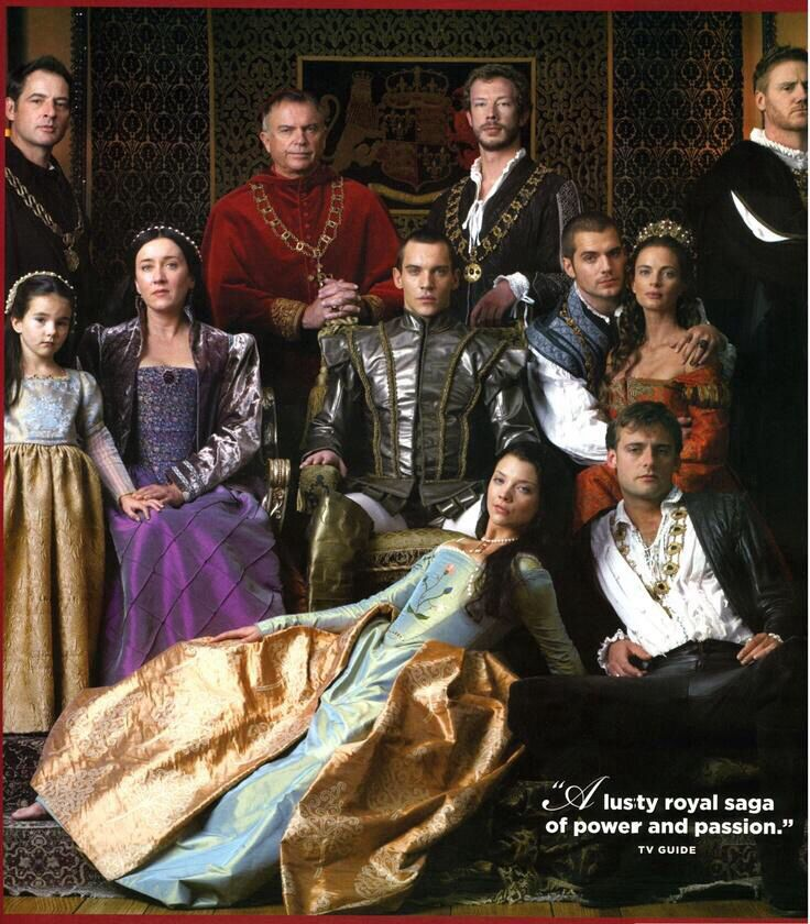 Jonathan Rhys Meyers .. The Tudors First season cast