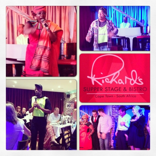 Live entertainment at Richard's Super Stage.  #live #dance #sing #perform #art #local #talent #CapeTown #SouthAfrica #goodtimes