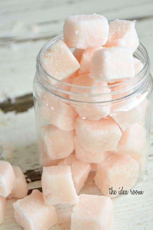 Sugar Scrub Cubes Recipe - The Idea Room