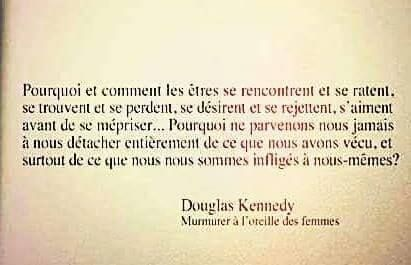 "Douglas Kennedy ""Murmurer à l'oreille des femmes"""