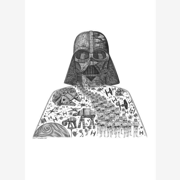 Vader-Mini-Print---Unframed
