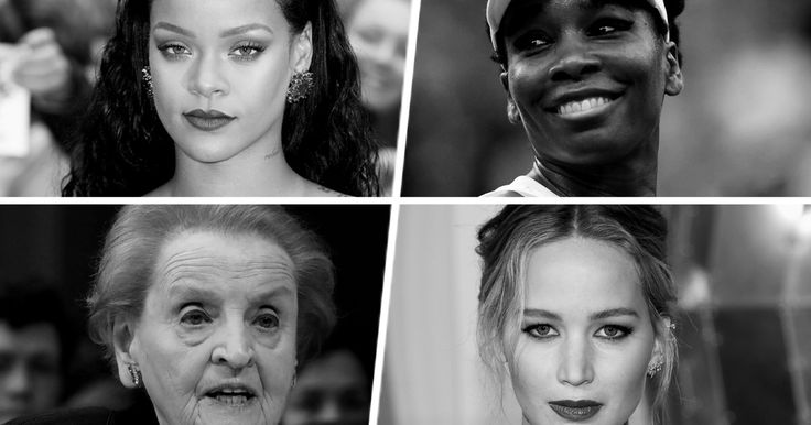 Rihanna, Madeleine Albright, Venus Williams, and more on choosing to forge your own path.